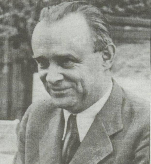 Generál František Moravec v době amerického exilu.