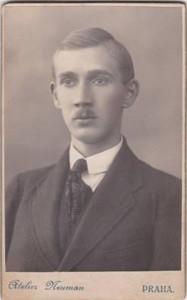 Generál František Moravec v roce 1914. Fotografii poskytla paní Anita Moravec Gard, vnučka.