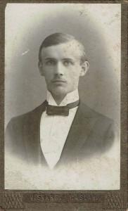 Generál František Moravec v roce 1914. Fotografii poskytla paní Anita Moravec Gard, vnučka. (2)