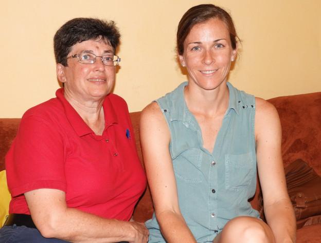 3 Vnučka Anita Moravec Gard, její dcera Alicia Frances Carter