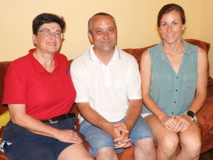 4 Anita Moravec Gard, publicista Vladimír Havlíček, Alicia Frances Carter