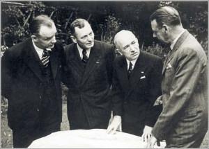 F. Moravec s E. Benešem
