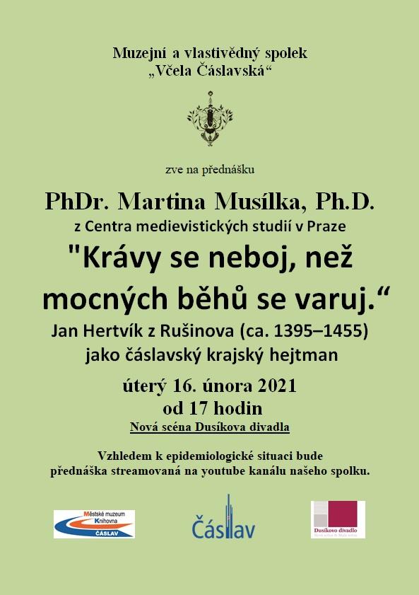 plakátMusílek